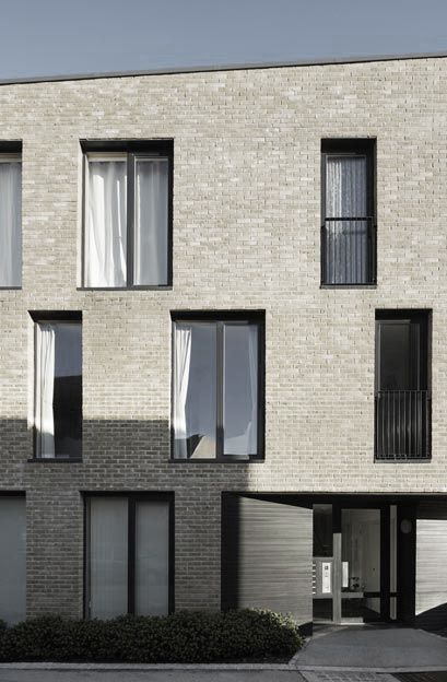 Alison Brooks Architects Apartment Block, South Chase Housing, Newhall, Essex, 2009