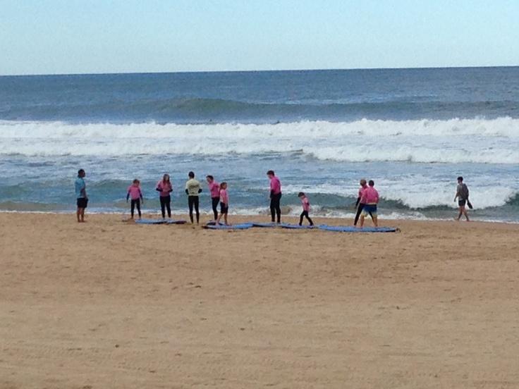 22/4/13 Surf school @ North Beach