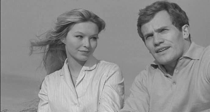 Marina Vlady et Bernard Fresson-La fille dans la vitrine  Luciano Emmer - 1961