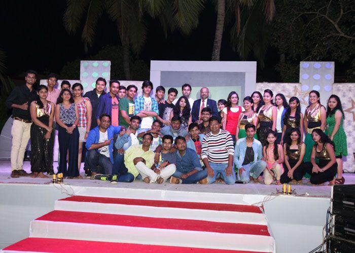 Team Choice on stage - Annual Meet 2015 @Goa