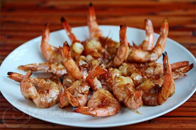 My kids love these Grilled Thai Shrimp with Garlic Sauce Recipe - Jeanette's Healthy Living