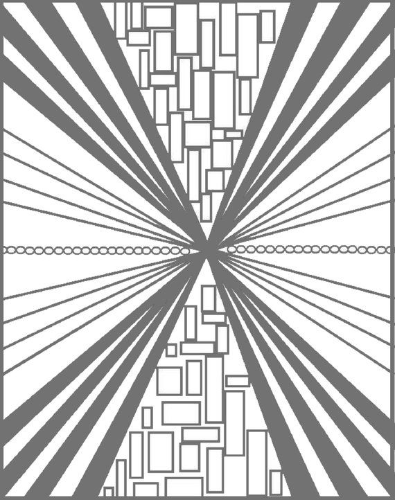 Advanced Geometric Coloring Pages Intricate Geometric Coloring