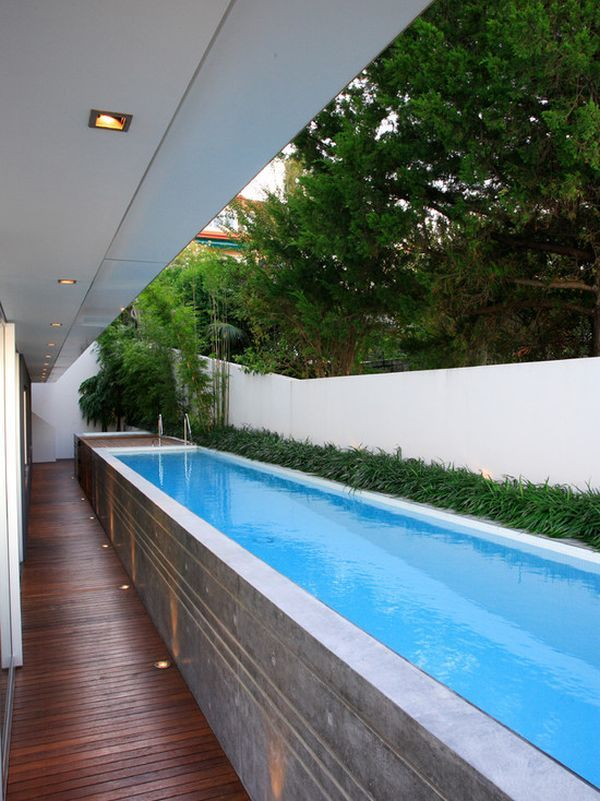 Unusual Outdoor Swimming Pool Designs