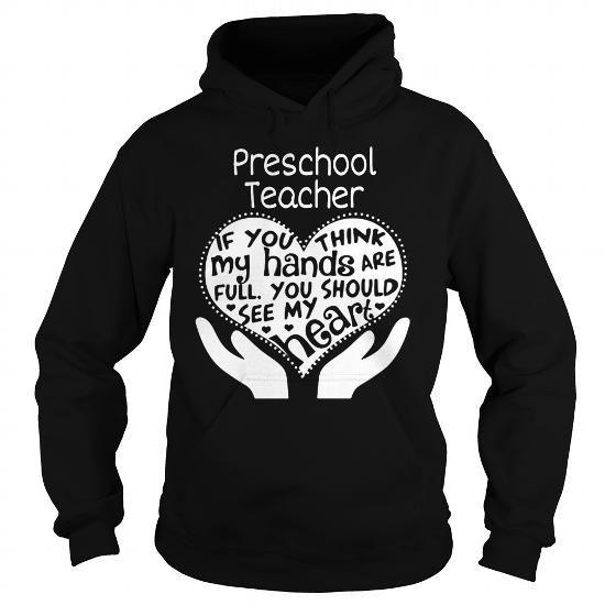 Preschool teacher t-shirt full heart #teacher #preschool #ideas #image #photo #shirt #tshirt #sweatshirt #hoodie #tee #gift #perfectgift #TeacherDay