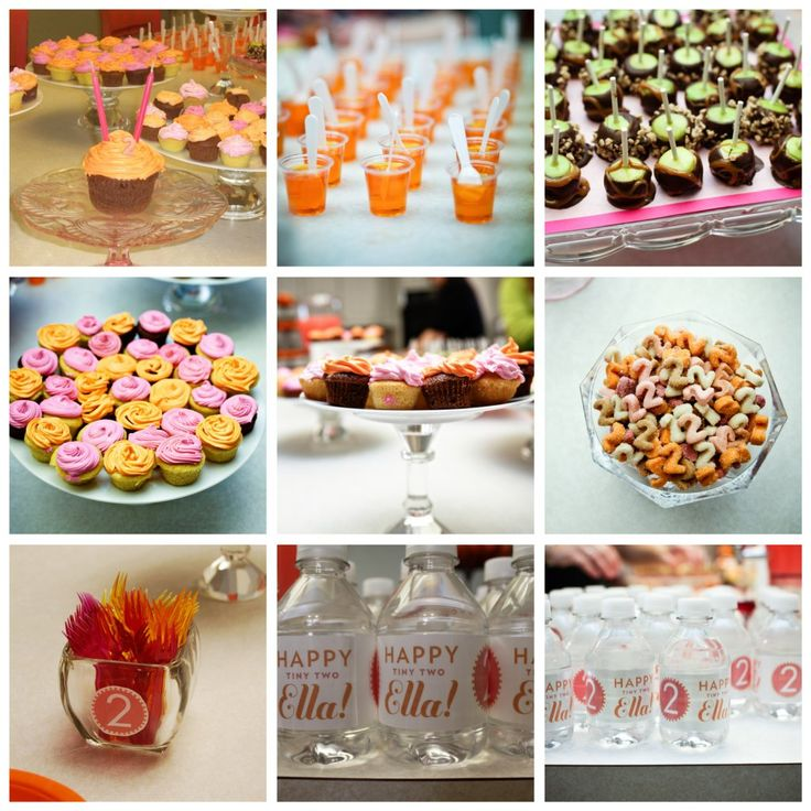 Cute food ideas for toddler party, especially mini candy/caramel apples