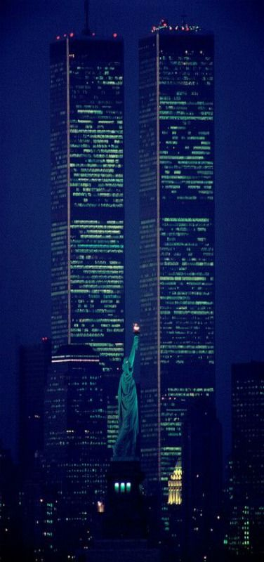 World Trade Center, New York - Never Forget. 9-11-01