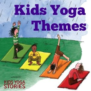 Are you looking for easy kids yoga themes? Enjoy this collection of monthly kids yoga themes to integrate yoga into your curriculum all year round. | Kids Yoga Stories