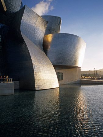 Guggenheim Museum in Bilbao, Spain. Designed by Frank Gehry, one of the best Architects of our time.  This place was AMAZING!