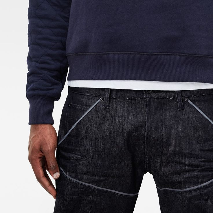 5620 G-Star Elwood Explained Tapered Jeans - Zoom_look