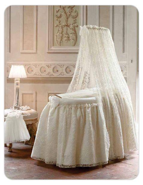 The Baby Cot Shop - Antique Lace Bassinet, £1,257.00 (http://www.thebabycotshop.com/antique-lace-bassinet/)