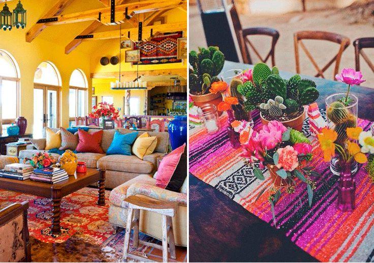 Descubriendo estilos mexicano decoracion de interiores - Consejos de decoracion ...