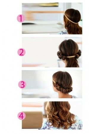 Ondas románticas, consigue este peinado sin usar calor, encuentra esta y otras opciones para ondular tu cabello, sin maltratarlo...http://www.1001consejos.com/ondas-sin-calor/