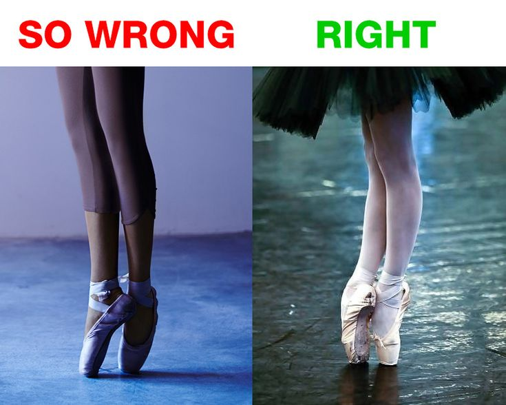 I hate it when dancers of all people don't realize that YOURE NOT SUPPOSED TO STAND ON YOUR TOES LIKE THAT! All the way up, people.
