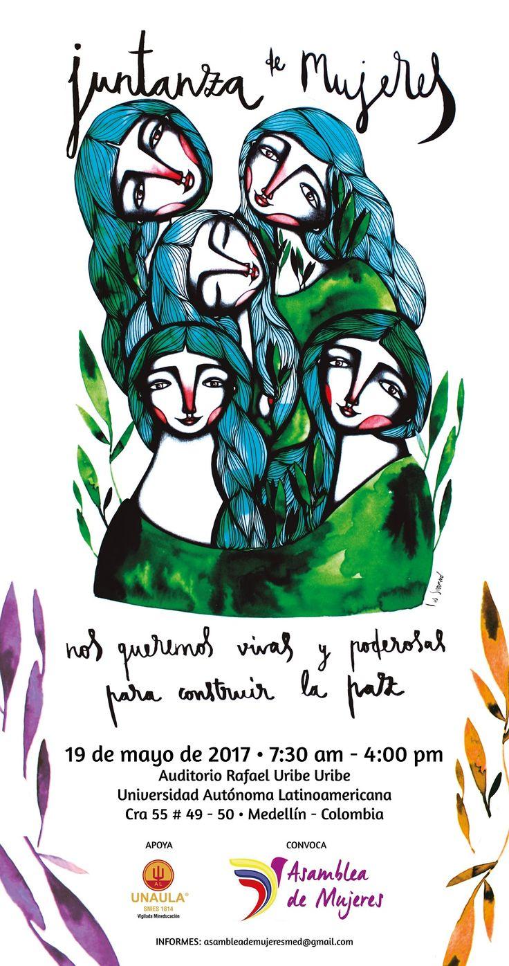 Movimiento de mujeres se reúne en Medellín para reflexionar sobre la construcción de paz