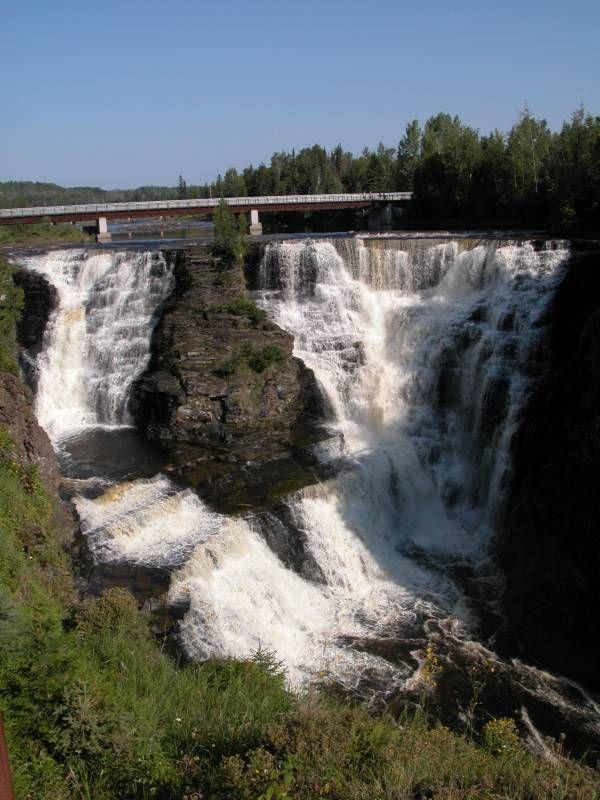 Kakabeka Falls, Thunder Bay, Canada.