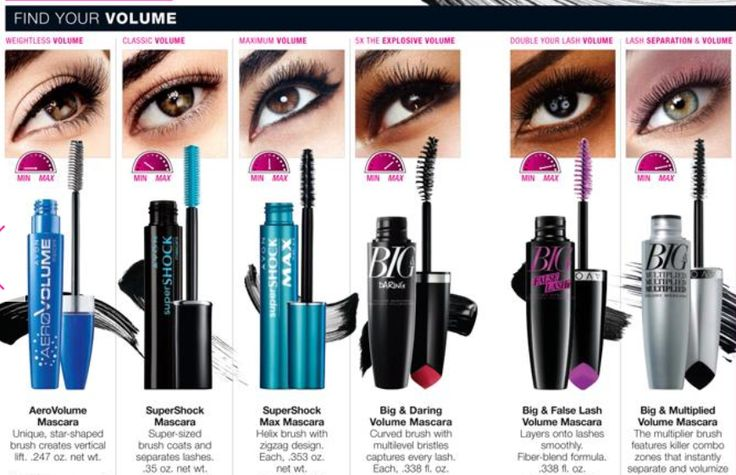 Top 5 Best Avon Mascara: Avon SuperShock Mascara in Black: Total Volume! Get yourself some extreme volume! Swipe on Shocking volume for your lashes with SuperShock Mascara. The super-sized brush allows you to create voluminous lashes, while the vivid black color helps your lashes create a shocking look. Your lashes will be full of volume, …
