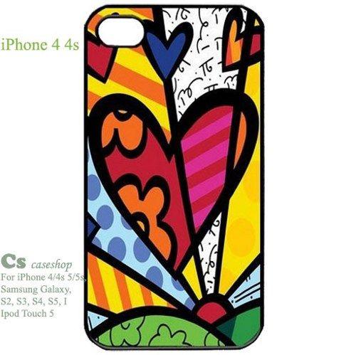 Romero Britto Cat Dog Love Art Case for Iphone 4 4s | 5STAR - Accessories on ArtFire