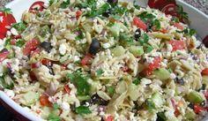 Awesome Greek Orzo Pasta Salad