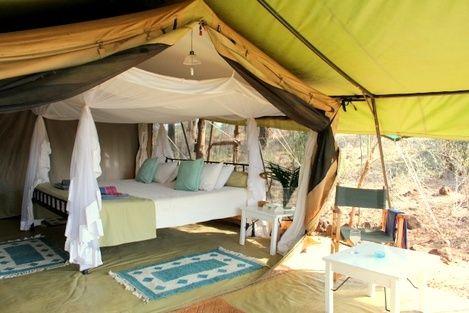 Our room at /offbeatsafaris/ Camp in Meru, Kenya