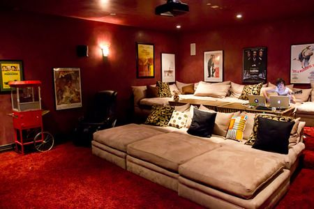 I wish i had this: Home Theater, Movie Rooms, Theater Rooms, Movie Theater, Houses Ideas, Theatre Rooms, Movie Theatre, Media Rooms, Home Theatre