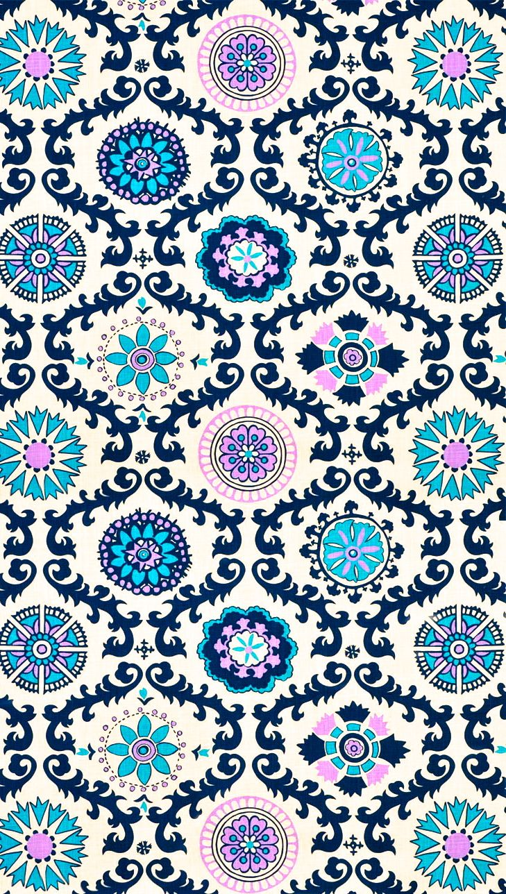 Wallpaper iphone mandala - Here Are Some Adorable Patterns To Put On Your Lock Screen Or Home Screen Plus For A Super Preppy Touch Use A Monogram App To Add Your Initials Onto It