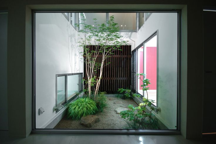 Life Would Be So Much Awesomer With A Zen Garden In The Middle Of Your House.  | Places To Exist | Pinterest | Architects, House And Exterior Part 77