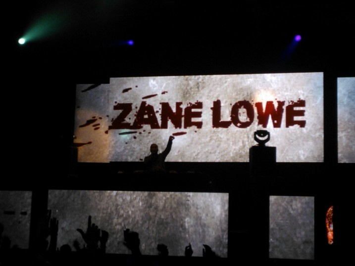 Zane Lowe at Knife Party Gig in Oakland