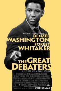 The Great DebatersMovie Posters, Debate Team, Debate 2007, Posters Design, Denzel Washington, Favorite Movie, Denzelwashington, The Great, True Stories