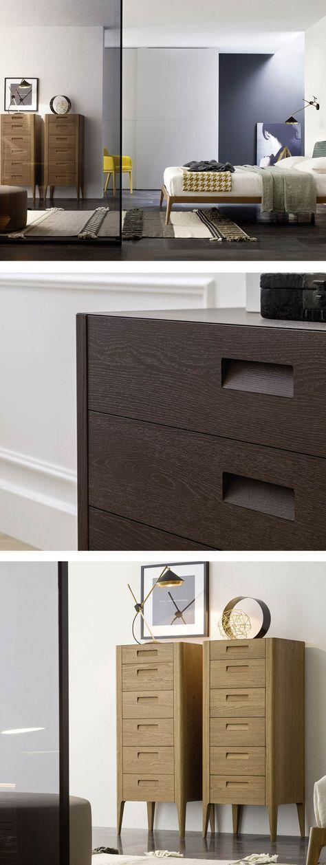 die schmale moderne hochkommode giotto steht auf 4 eleganten massivholzbeinen und ist in zwei farben erhltlich - Hangesideboard Design Funktionellen Und Die Beliebte Mobel