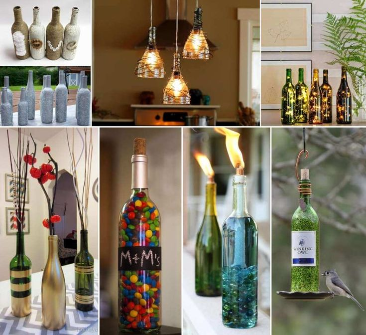 26 Creative Wine Bottle Crafts for You to Try