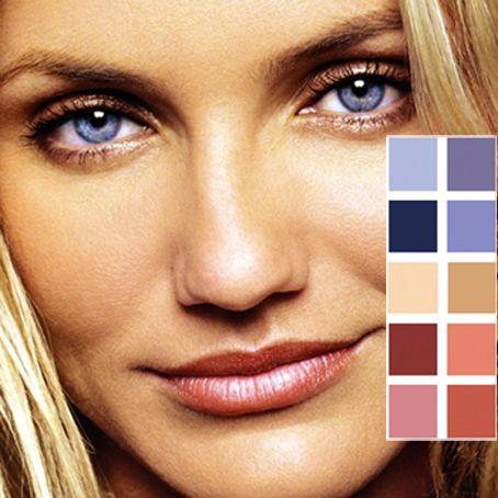 abbinamento colori cameron diaz, simili alla bandiera americana