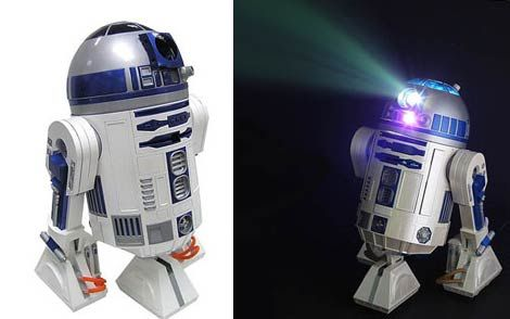 R2D2 Sound and Projection Unit