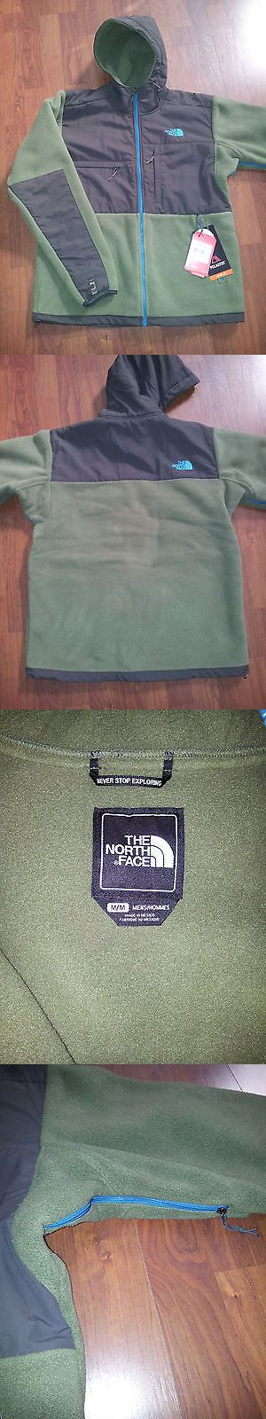 Coats and Jackets 181358: Nwt North Face Denali Hoodie Mens Jacket Olive Green Medium -> BUY IT NOW ONLY: $129.99 on eBay!