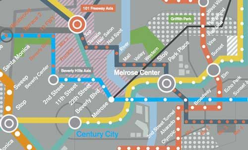 Here's The Mindblowing LA Rail Map Of The Future