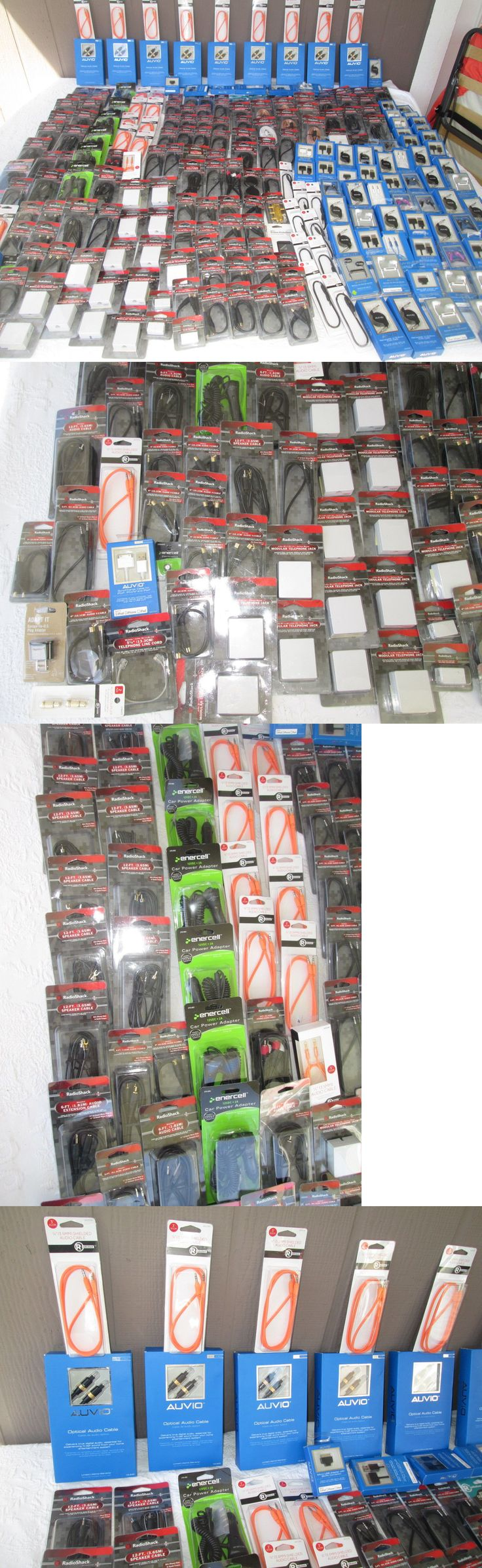 Other Consumer Electronic Lots: Wholesale Lot Of Radio Shack Merchandise 240 Pcs. For Retail New Jp 18 -> BUY IT NOW ONLY: $275.0 on eBay!