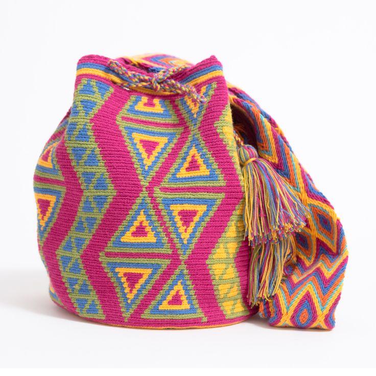 One-Of-A-Kind Handmade #WayuuBags now at www.wayuutribe.com