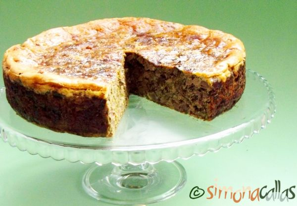Tort aperitiv cu drob de pui Un aperitiv pentru masa de Pasti traditional, gustos, satios si aspectuos. Noi nu mai mancam miel...