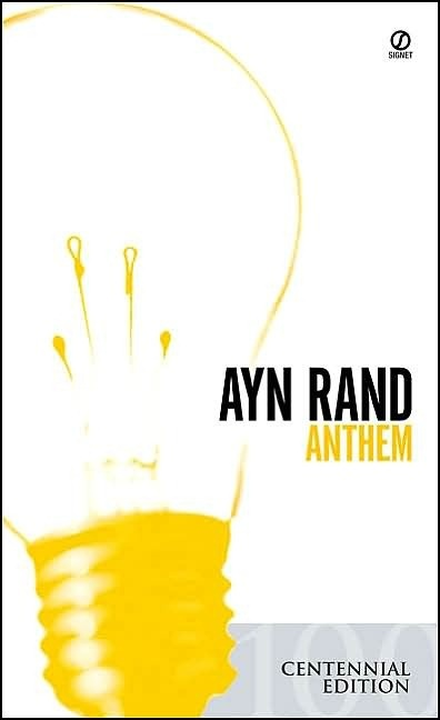 Unlike Atlas Shrugged, this book is 105 pages. Definitely a good read and totally worth the two hours it takes to read.: Books Before, Books Cant, Books Worth, Dystopian Books, Rand Books, Re Reading, Favorite Books, Small Books, Digital Bookshelf