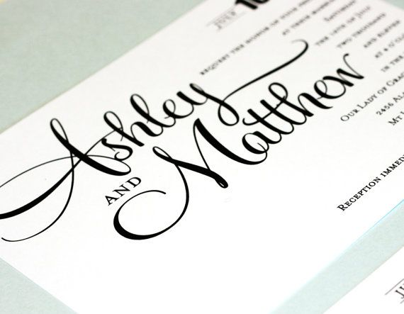 Printable Wedding Invitation  DIY  Ashley Suite by HeSawSparks, $25.00