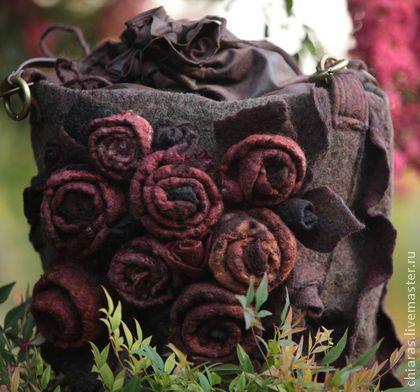 Женские сумки ручной работы. Ярмарка Мастеров - ручная работа rose bag-. Handmade.