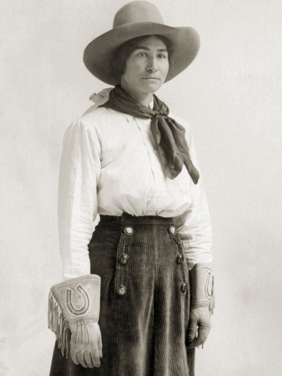 Colorado's  Bertha Blancett