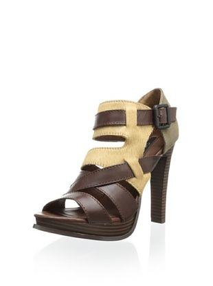 40% OFF Calvin Klein Jeans Women's Tamia Sandal (Brown/Tan)