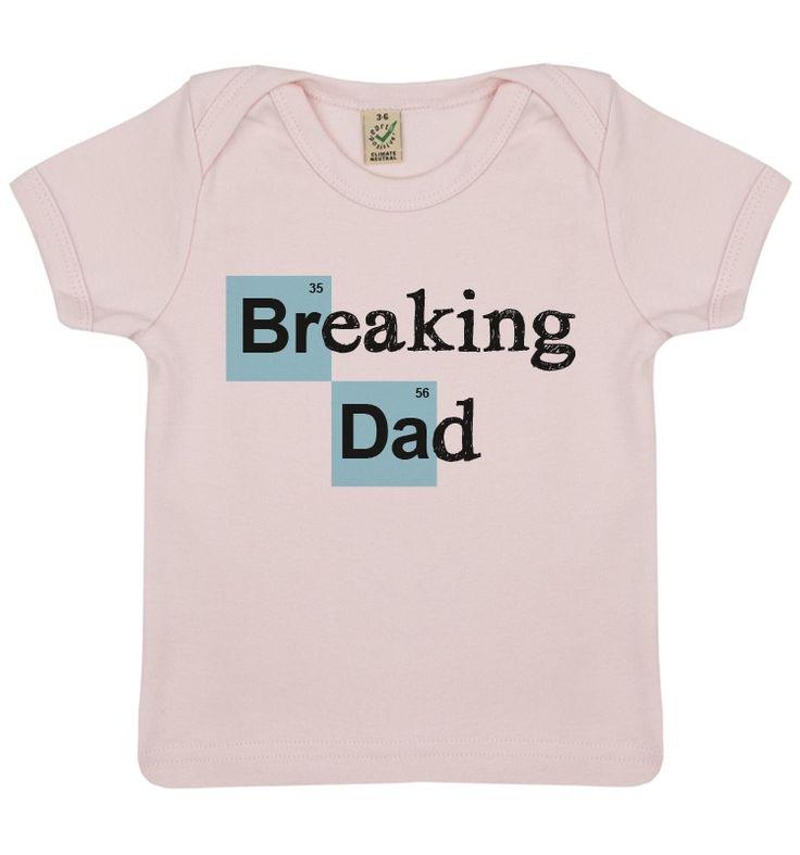 T-Shirt Breaking Dad Rose - Bébé TSHIRT