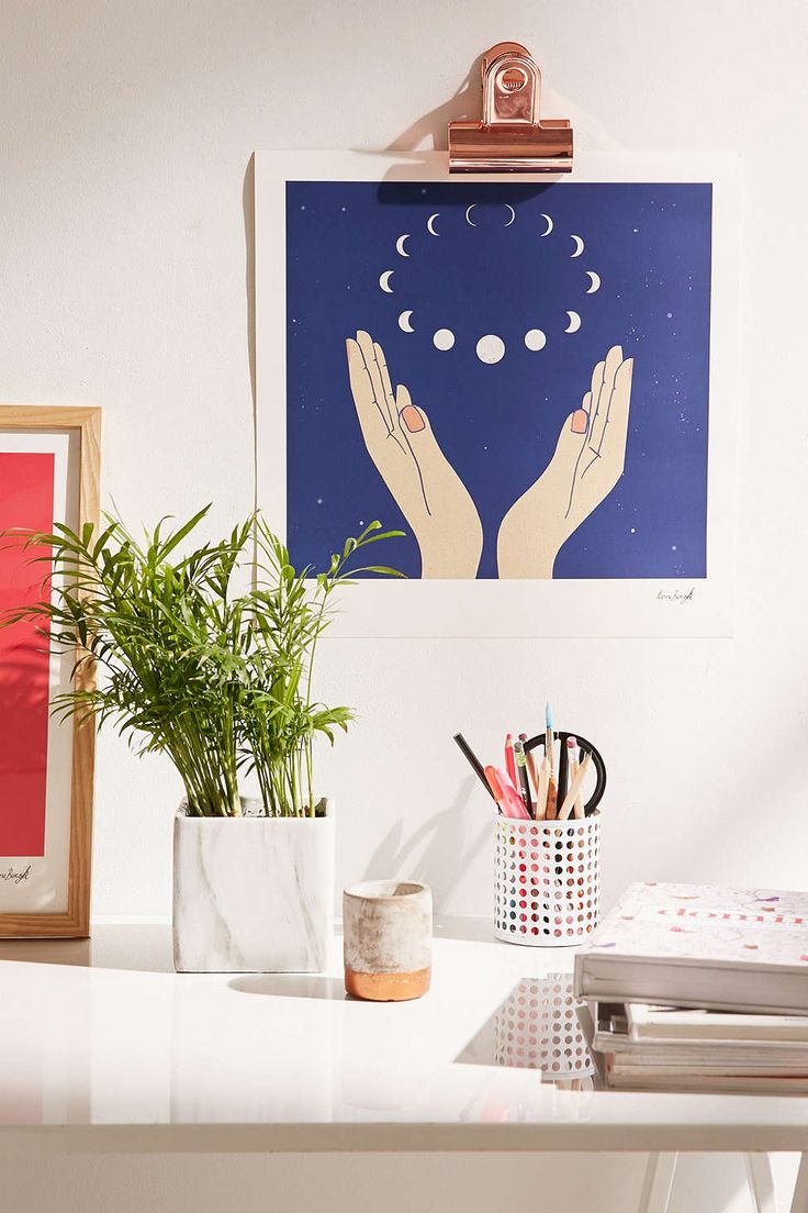 Hanna Barczyk The Moons Art Print - Urban Outfitters