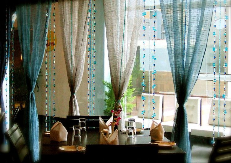 DECORATION, Moroccan Curtains: Estia Moroccan Curtains Restaurant Aloft Hotel Int. Tilak Asso. Bangalore
