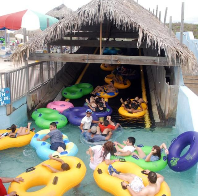 Stay Cool at Texas Water Parks: Schlitterbahn offers some of the best water parks in Texas.