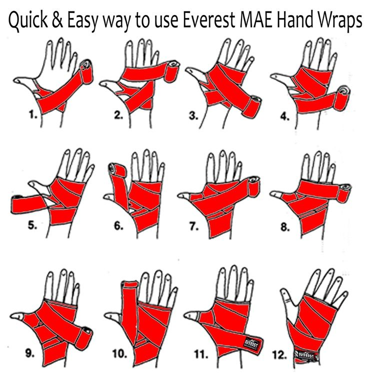 "Everest MAE Boxing Hand Wraps 180"" Mexican Boxing Bandages Hand Wraps Kickboxing"