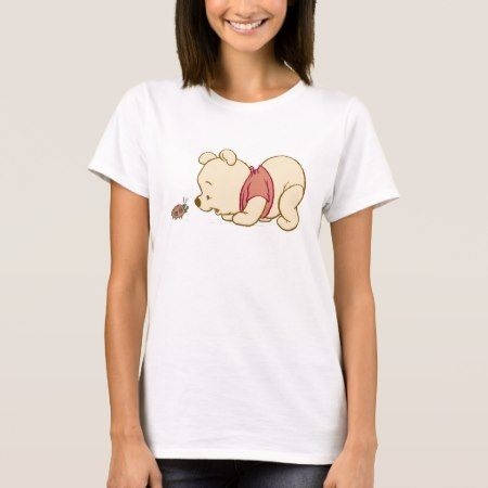 Pooh Talking to a Ladybug Disney T-Shirt - tap, personalize, buy right now!