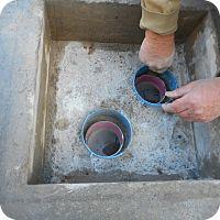 • Prahan • conCrete Drainage Pit • D.C.W. WaterProofing •