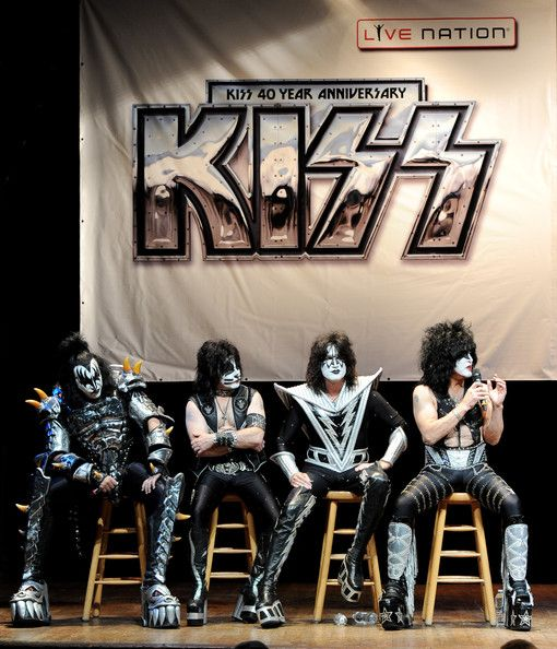 Eric Singer Photos Photos: KISS and Def Leppard Announce Summer Tour